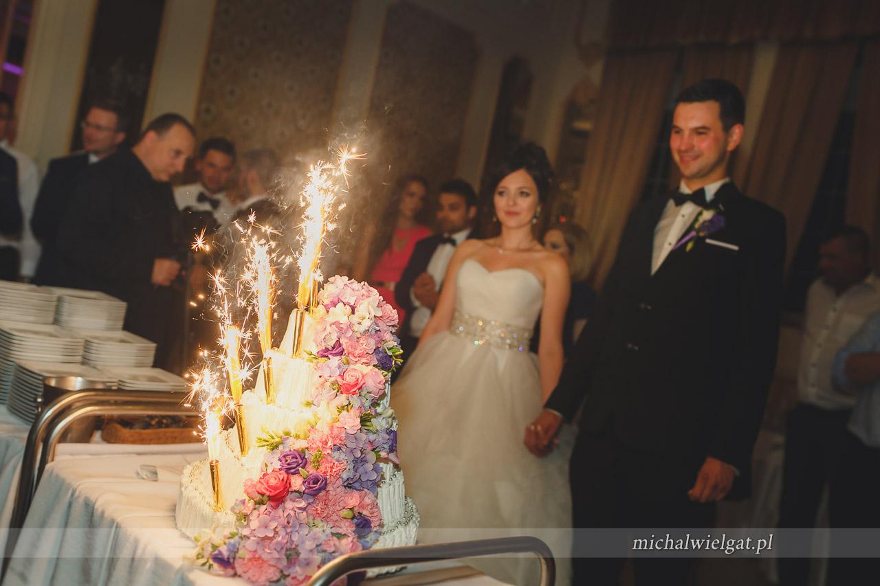 Pałac Aureus tort weselny